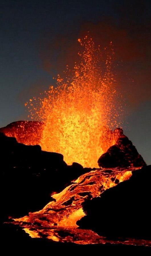 Piton de la Fournaise Volcano, Réunion Island