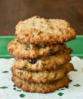 Banana Oatmeal Power Cookies - Healthy - flour - rolled oats - flaked coconut - brown sugar - very ripe banana - egg - walnuts - flax seeds - sunflower seeds