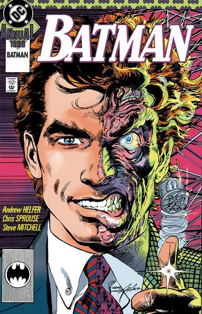 DEAL OF THE DAY Two Face A Celebration Of 75 Years HC - $35.99 Retail Price: $39.99 You Save: $4.00 Experience the stories that defined Harvey Dent as both an antihero and super-villain from the Golden Age of Comics to today! Two-Face's obsession with duality has put him in stark contrast with the Dark Knight, blurring the lines between hero and villain across the decades!  TO BUY CLICK ON LINK BELOW http://tomatovisiontv.wix.com/tomatovision2