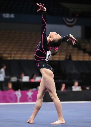 Lexie Priessman 2010 Nastia Liukin Cup: Cincinnati Gymnastics copyright