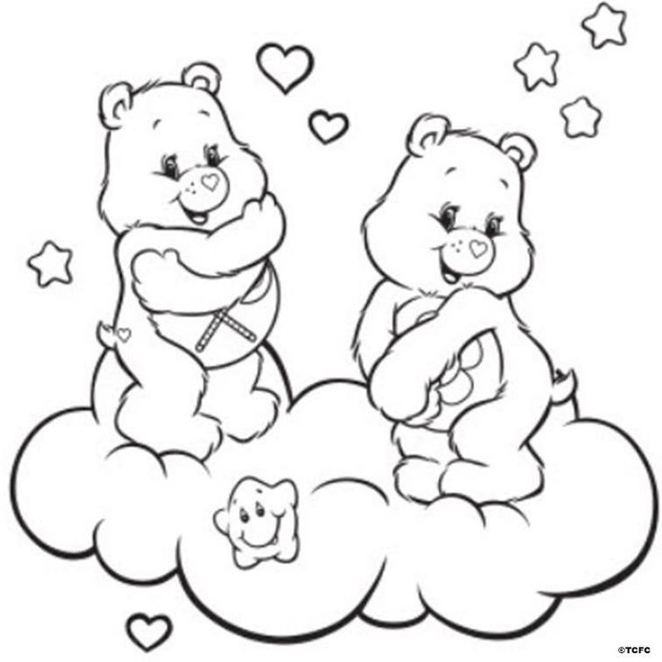 1000 images about Coloriage bisounours