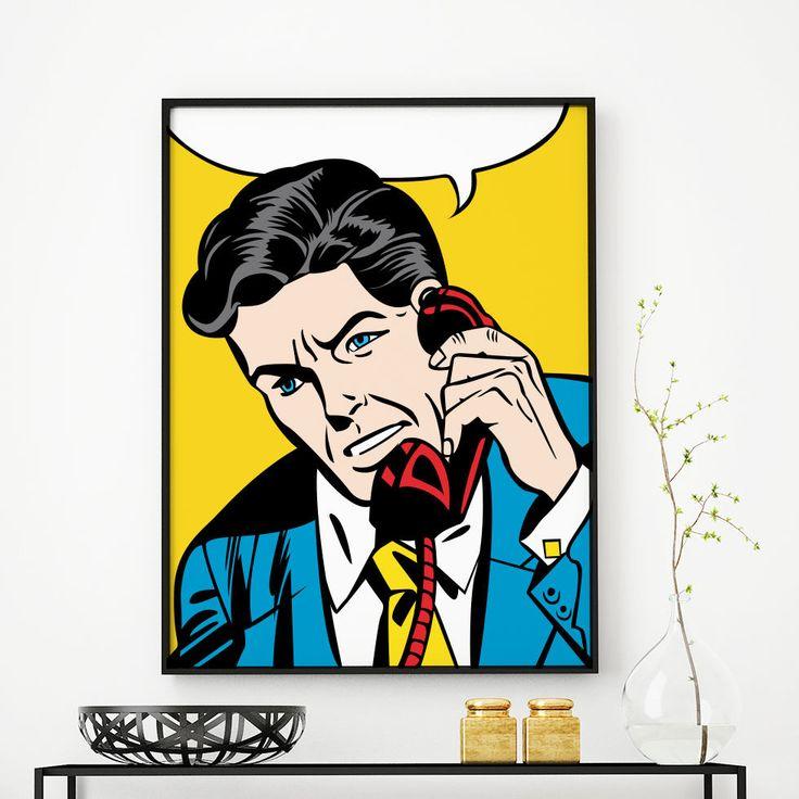 Detective Customizable Comic Book Wall Art