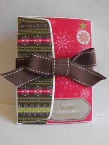 Envelope mini with tutorial