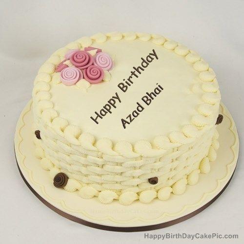 write name on Happy Birthday Cake for Girls