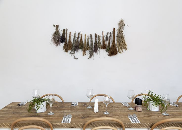 Wall decoration with spices. Photo credits Emi Gheorghe