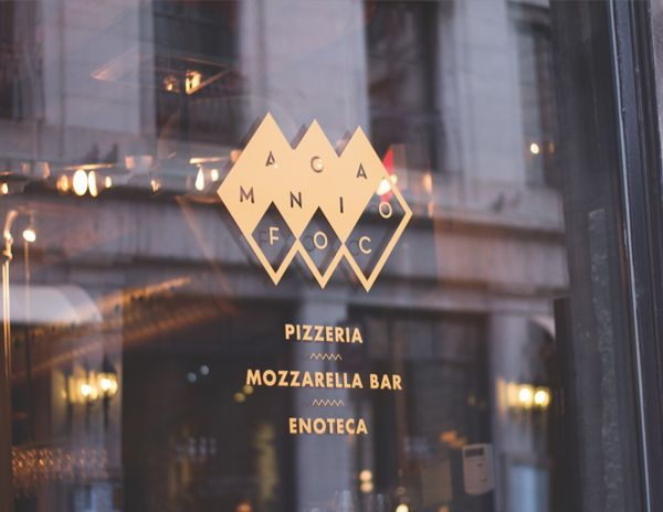 Mangia Foco - Branding & Prints by Vanessa pepin, via Behance