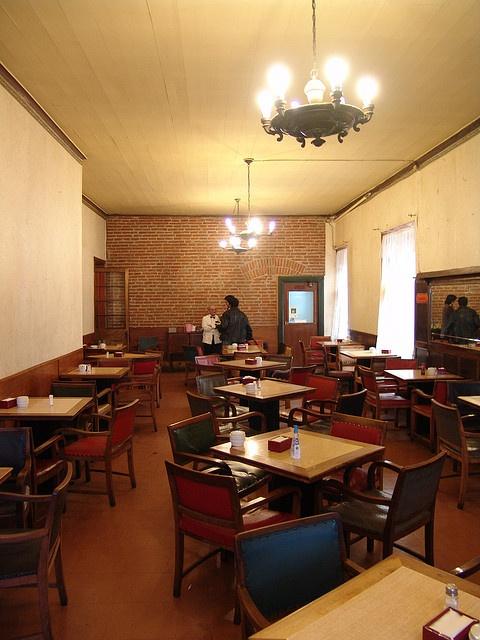 """Café Riquet """" El último día """" by Banco Gráfico de Chile, via Flickr"""