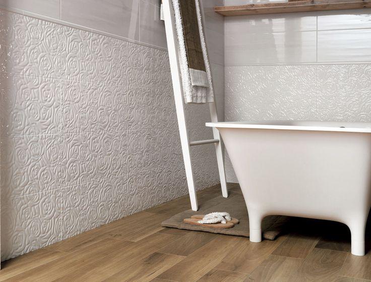 Bathroom tile / kitchen / wall / porcelain stoneware - LUMINA : WHITE SOLE ROSE - FAP ceramiche