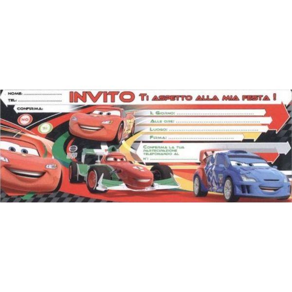 cars inviti per feste di compleanno http://www.lefestediemma.com/shop/it/cars-rsn/386-cars-20-inviti-per-feste.html