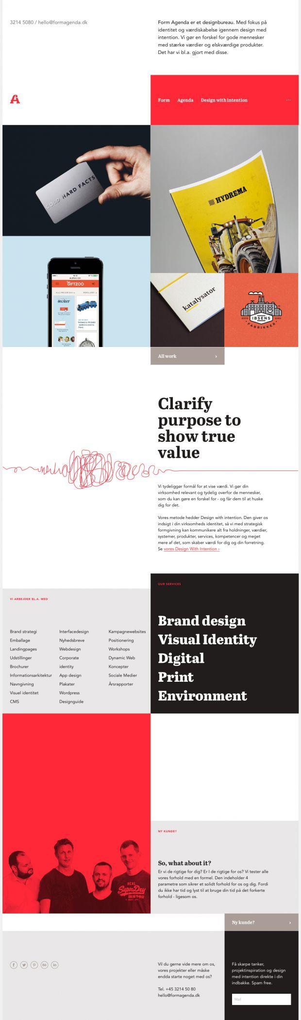2847 best Webdesign Inspiration images on Pinterest | Editorial ...