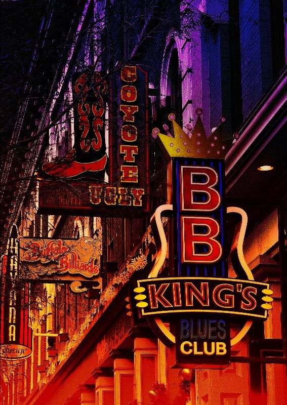 Nashville Nights BB King's Blues Club and Coyote Ugly