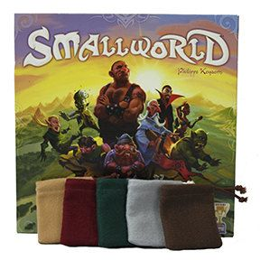 Small World Board Game Bags. Five ( 5 ) Premium Felt bags for each players gold coins and loot. by Nutsak on Etsy https://www.etsy.com/listing/197207065/small-world-board-game-bags-five-5