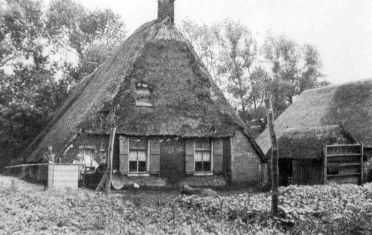 Eursing bij Beilen, boerderij van Krans, afgebroken