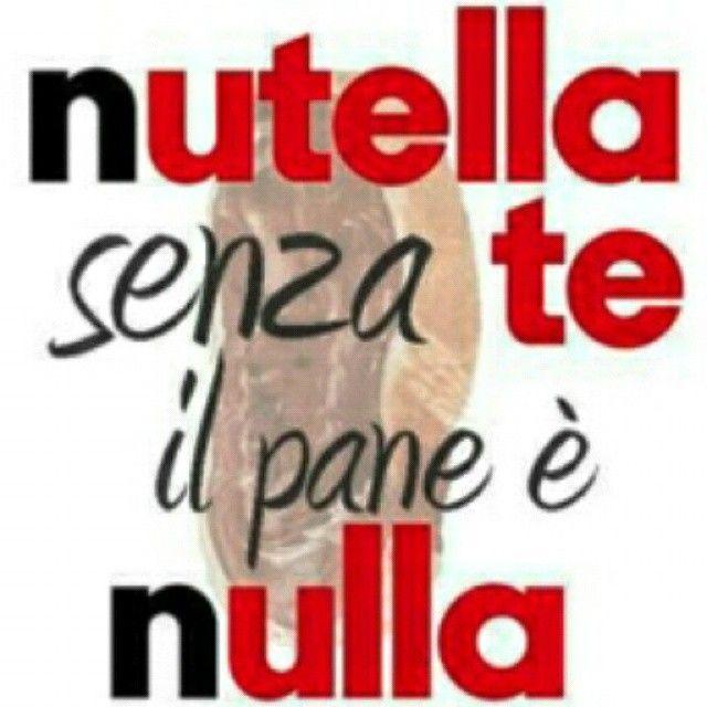 #nutella #pane #nulla @favij