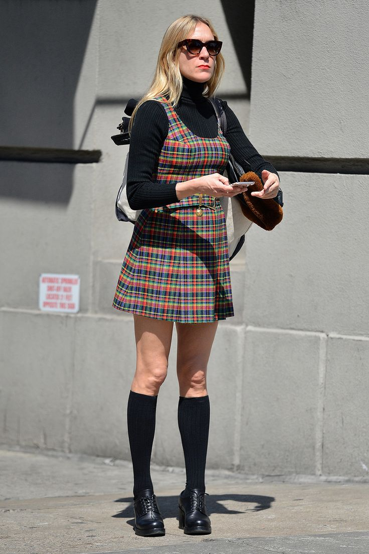 #ChloëSevigny #style NEWS 29.4.2016...Chloë Sevigny Reinvents the Schoolgirl Look for Grown-Ups