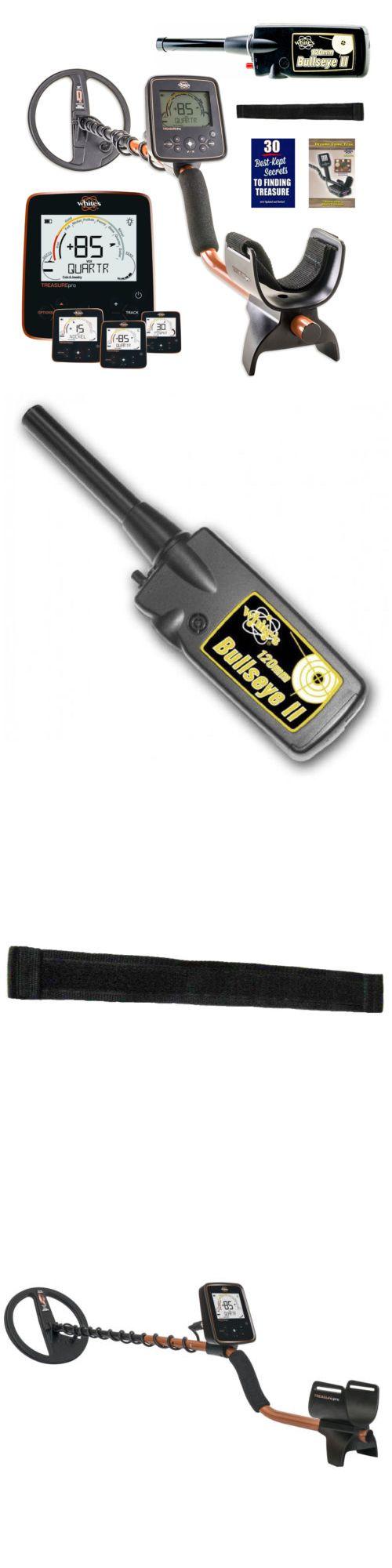 Metal Detectors: Whites Treasurepro Metal Detector With 10 Dd Waterproof Coil And Bullseye Ii -> BUY IT NOW ONLY: $369 on eBay!