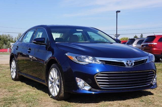 2013 Toyota Avalon Limited Limited 4dr Sedan Sedan 4 Doors Blue for sale in Springfield, MI Source: http://www.usedcarsgroup.com/used-toyota-avalon-for-sale