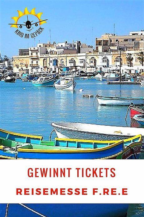 Auf zur Reisemesse nach #münchen Gewinnt Tickets für die free - Freizeit - und Reisemesse vom 21.bis 25. Februar. #urlaub #familie #familytravel #malta