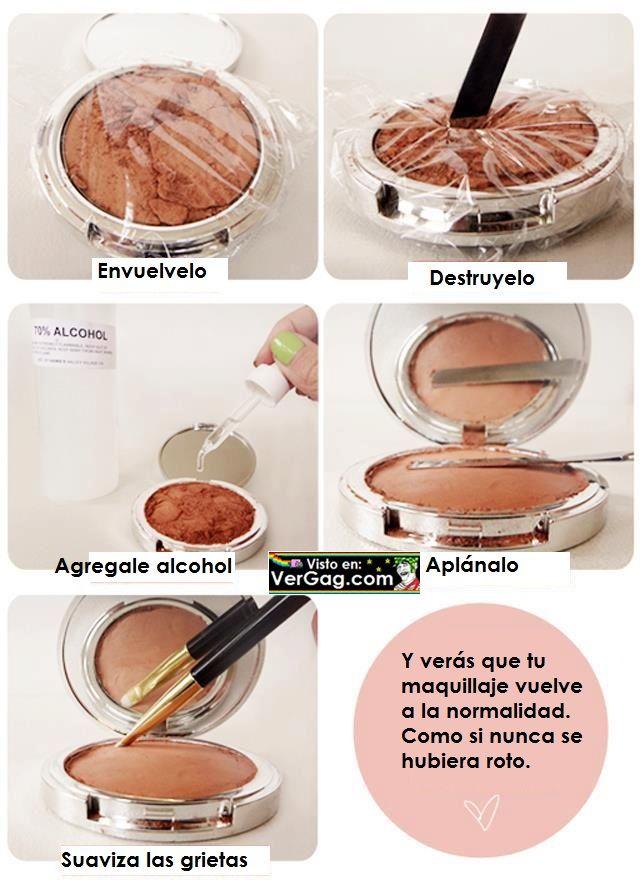 Maquillaje roto
