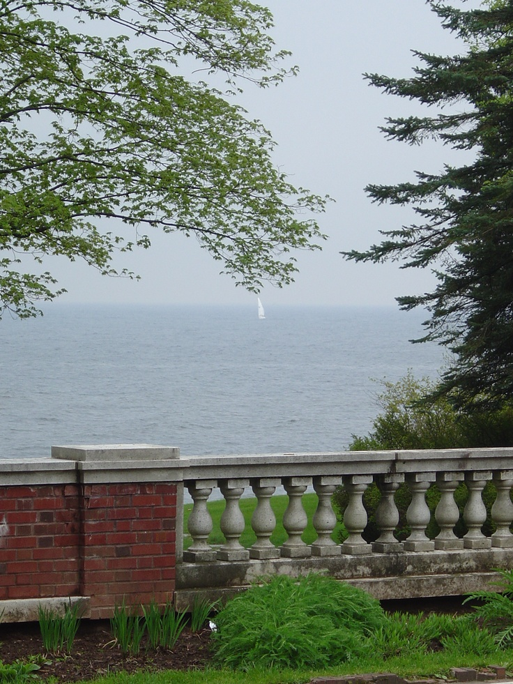 Glensheen Mansion, overlooking Lake Superior, Duluth MN