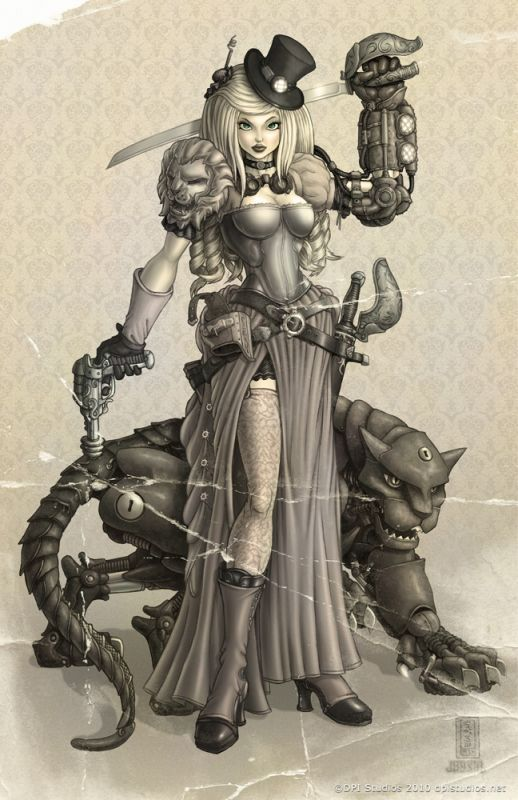 This And Other Concept Art Via Steampunk Art And Prints