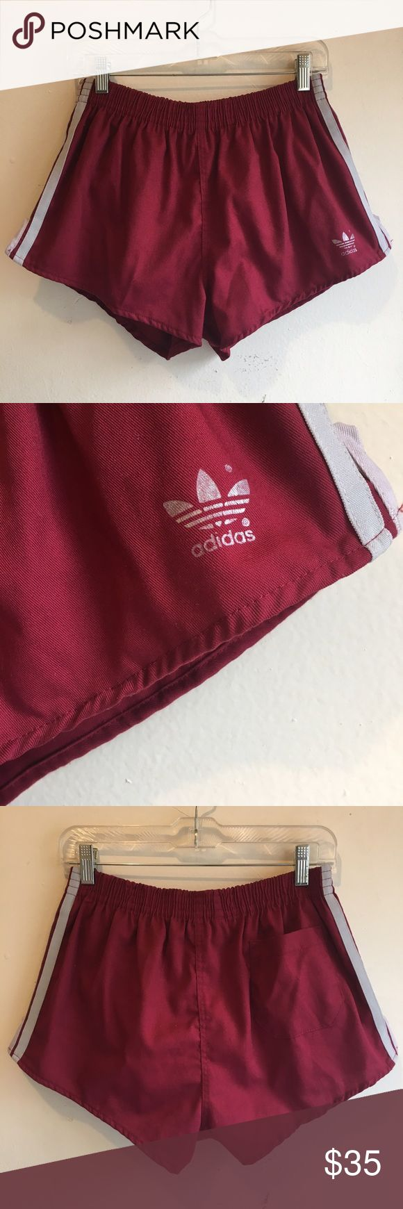 Adidas Soccer Shorts Vintage Adidas soccer shorts in perfect condition. Built in briefs. One back pocket. Drawstring. #K103 Adidas Shorts