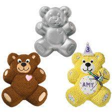 Wilton Teddy Bear Cake Tin Recipe