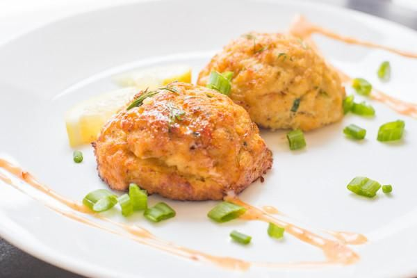Check out these plump, delectable crab cakes loaded with US blue crab meat and just the right amount of Chesapeake Bay style seasoning.