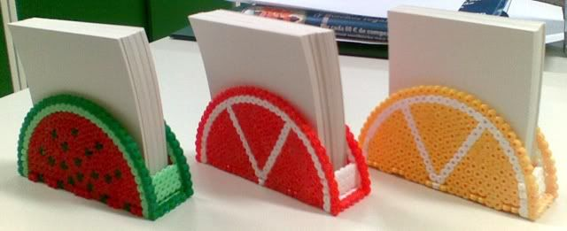 Napkin/Notepad holder hama beads by Alfons05
