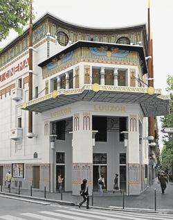 Le Louxor cinema, Paris. corner boulevard magenta and blvd de la Chapelle - metro - Barbes-Rochechouart