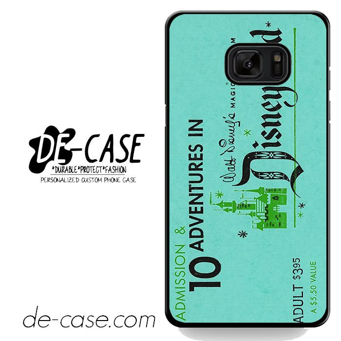 Disneyland Ticket DEAL-3461 Samsung Phonecase Cover For Samsung Galaxy Note 7