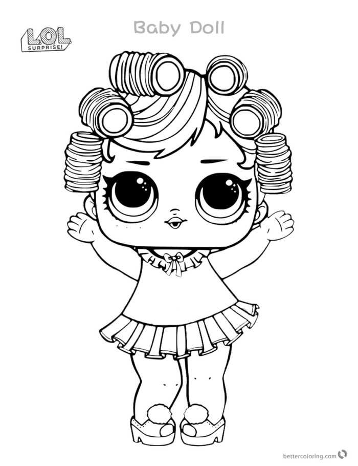 Printable Lol Doll Coloring Pages Free Coloring Sheets Baby Coloring Pages Lol Dolls Coloring Pages