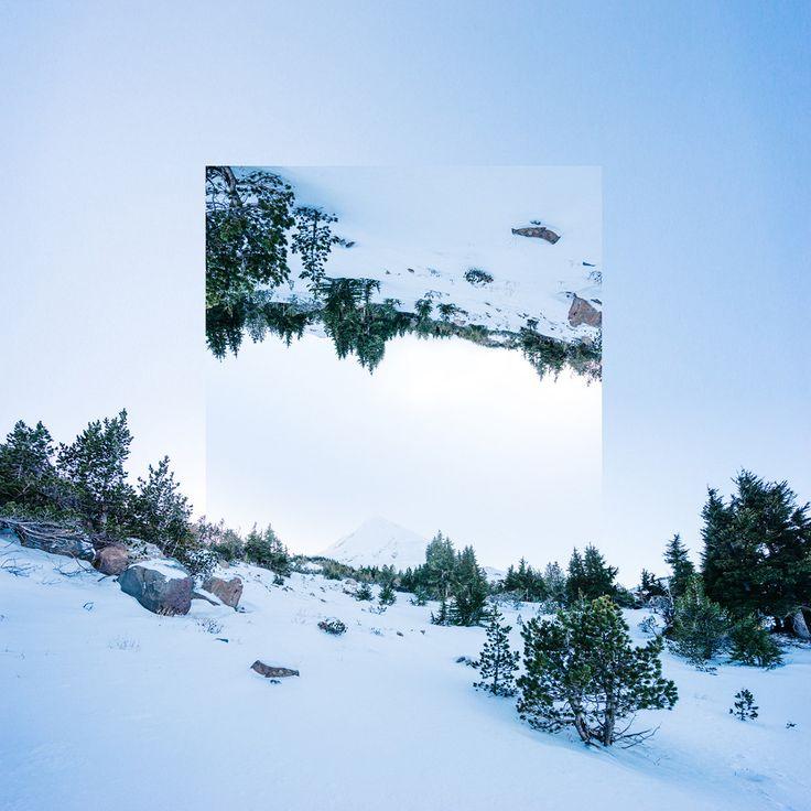 Geometric Reflections on Behance