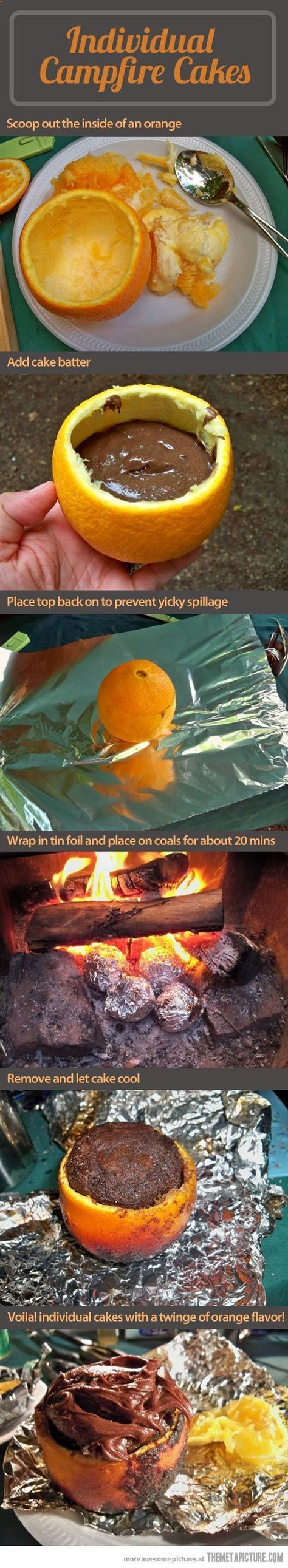 Oranges, fire and deliciousness