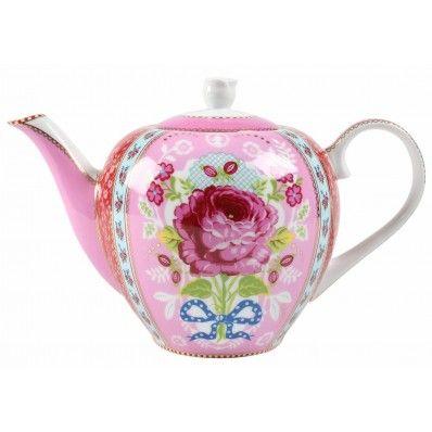 Pink Pip Studio Pink Floral Teapot <3
