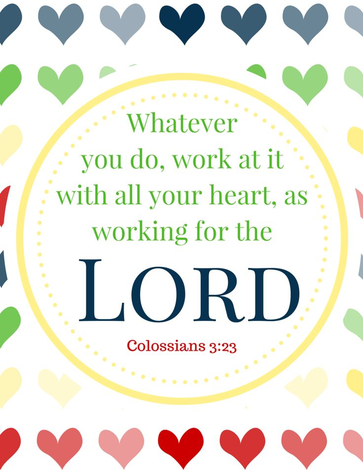 17 best ideas about colossians 3 23 on pinterest