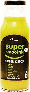 Koktajl owocowo warzywny SUPER Smoothie - Zielony detoks
