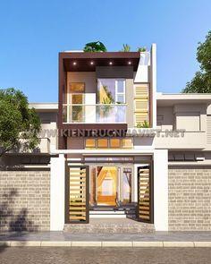 Thiết kế nhà phố 2 tầng đẹp - Công Ty Thiết Kế Xây Dựng Nhà Ống Đẹp - Nhà Phố Đẹp - http://www.kientrucnhaviet.net