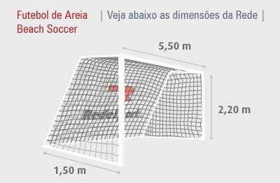BEACH SOCCER (Linha_Cristal) - Futebol de Areia / Beach Soccer - Redes Esportivas - RedeSport®