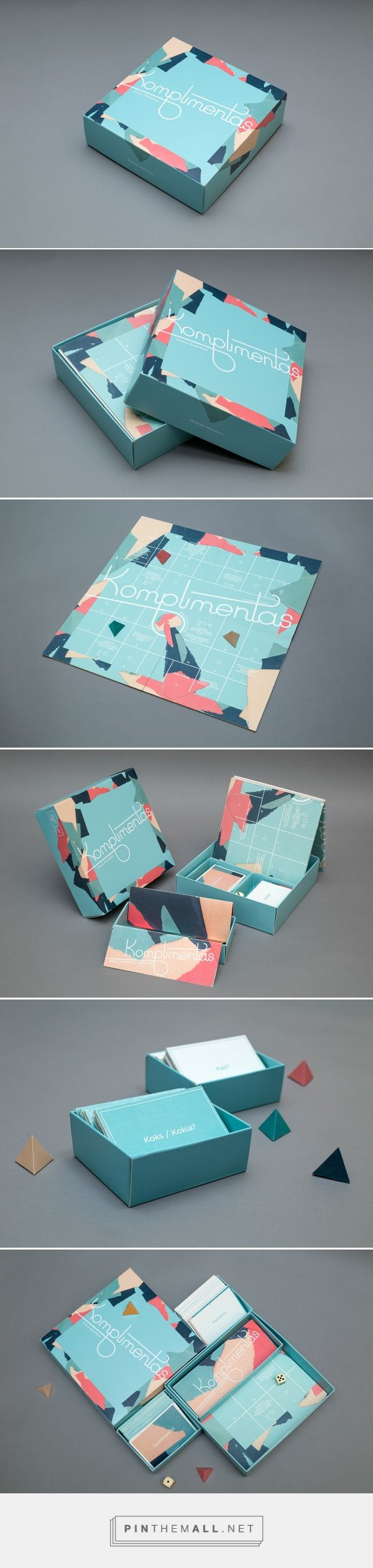 Komplimentas / board game by Regina Stonytė