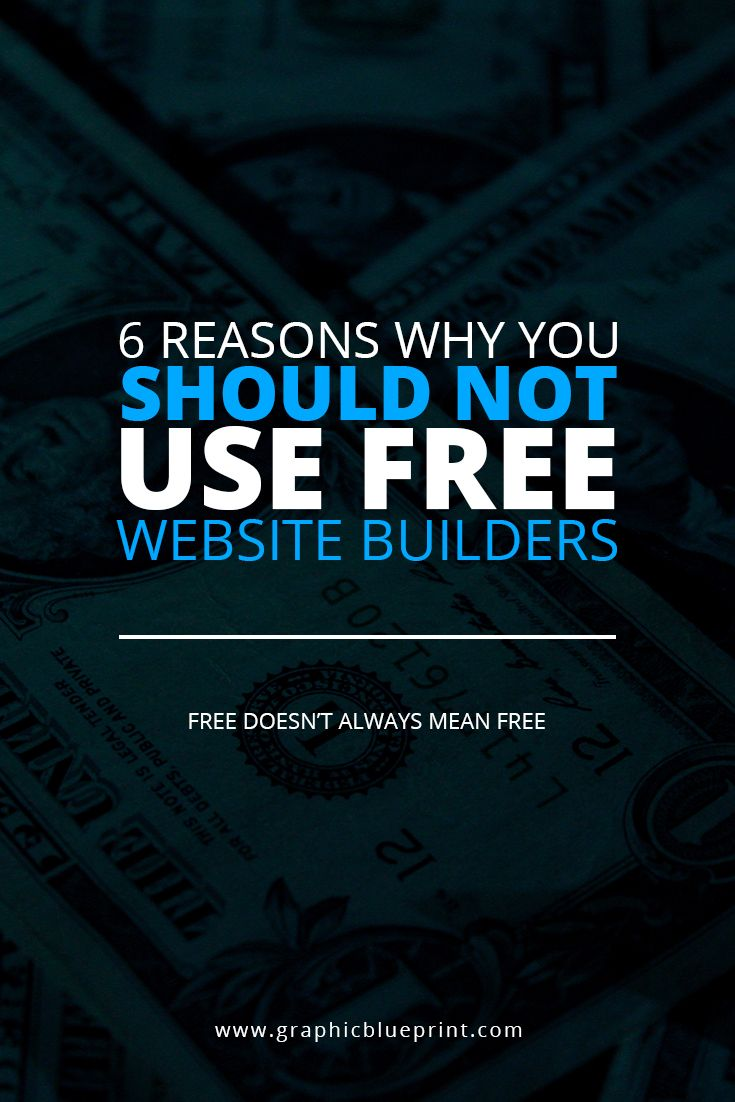 Business owners try to keep costs low by using free website builders. Here are reasons why not to use a free website builder.