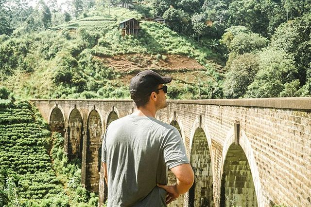 Taking in the view. Amazed at the architecture of the 9 Arch Bridge - SEEK SEE TRAVEL -