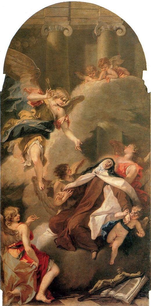 Έκσταση της Αγίας Τειρεσίας   Βασιλική του Αγίου Μάρκου στη Βενετία