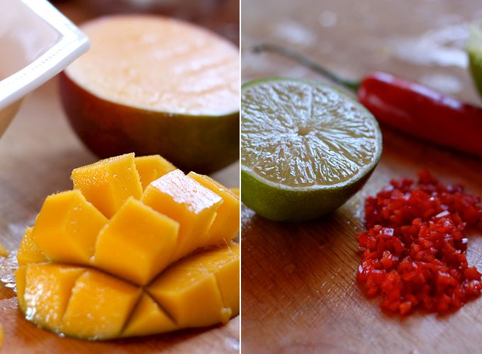 My New Roots - Marinated Mango: My New Roots, Large Limes, Healthy Choice, Marines Mango, I Love Food, Eating Healthy, Rose Petals, Limes Organizations, Fresh Chilis