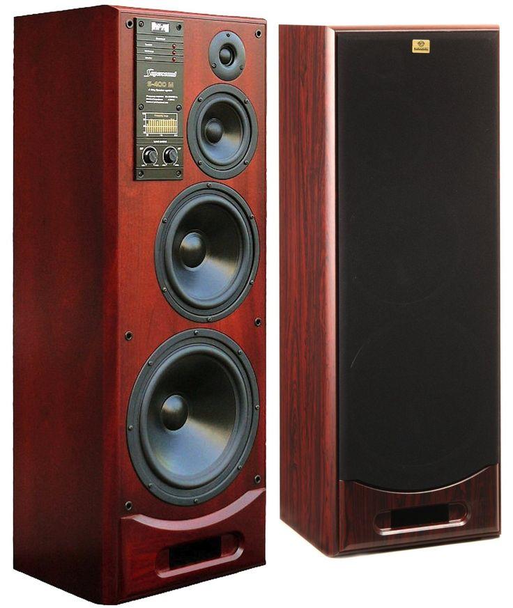 speakers monitor. from latvia whit love: rrr s-400m 4-way 400w monitor speakers mahogany