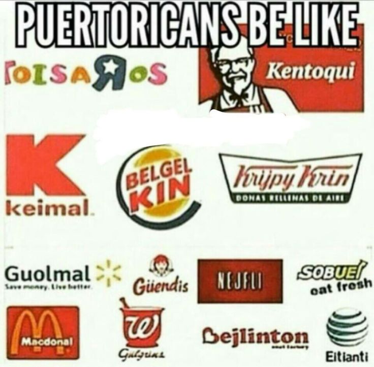 Puerto Ricans be like ...lmao!!