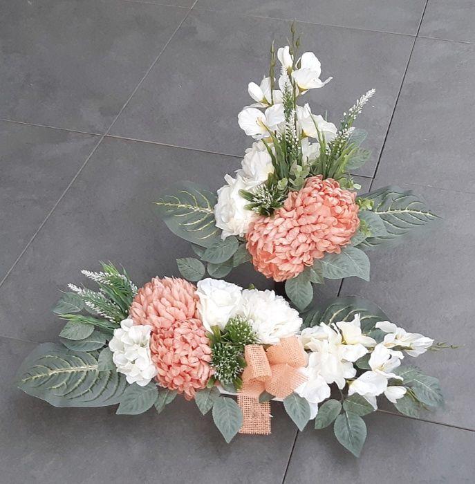 Kompozycja Na Grob Komplet Stroik Cmentarz Ruda Slaska Olx Pl Floral Wreaths Floral Wreath