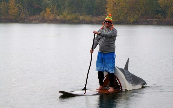 Shark Attack On A Sup Sup Costumes Contest Great White