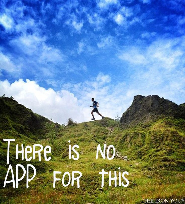 .There is no app for this. #Running #Motivation