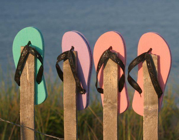 Jandals; standard issue footwear in New Zealand